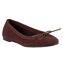 Buy John Lewis Jepetto Suede Ballet Pumps Online at johnlewis.com