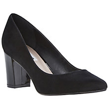 Buy Dune Annika Pointed Court Shoes, Black Online at johnlewis.com