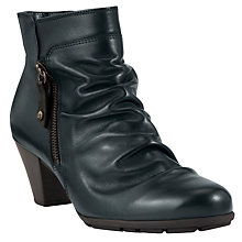 Buy Gabor Lexy Leather Ankle Boots, Black Online at johnlewis.com
