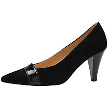 Buy Gabor Erskine Suede Court Shoes Online at johnlewis.com