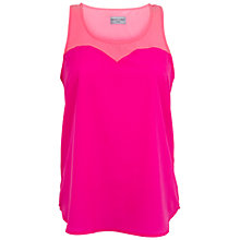 Buy Whistle & Wolf Trapeze Top, Pink Online at johnlewis.com