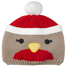 Buy John Lewis Robin Beanie Hat, Brown/Multi Online at johnlewis.com