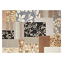 Buy Clarissa Hulse Patch Floral Rug, Natural Online at johnlewis.com