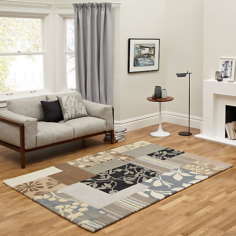 Buy Clarissa Hulse Patch Floral Rug Online at johnlewis.com