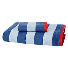 Buy little home at John Lewis Boats & The Blue Sea Striped Towels Online at johnlewis.com