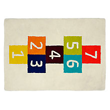 Buy little home at John Lewis Hopscotch Rug Online at johnlewis.com