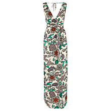 Buy Warehouse Celeste Print Maxi Dress, Multi Online at johnlewis.com