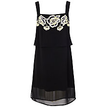 Buy French Connection Estelle Stitch Strappy Dress, Black Online at johnlewis.com