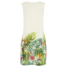 Buy Warehouse Tropical Palm Print Dress, Multi Online at johnlewis.com