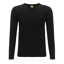 Buy Pretty Green Mosely Crew Neck Jersey Top Online at johnlewis.com