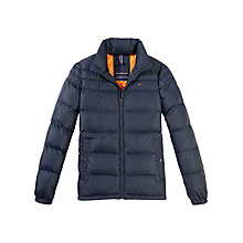 Buy Tommy Hilfiger Hudson Bomber Jacket, Navy Blazer Online at johnlewis.com