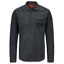 Buy Barbour Renison Pure Cotton Shirt, Graphite Online at johnlewis.com