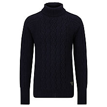 Buy Barbour Sub-Deck Roll Neck Lambswool Jumper Online at johnlewis.com