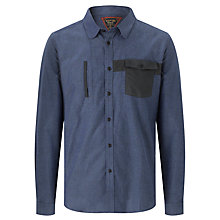 Buy Barbour Gowling Pure Cotton Shirt, Fresh Blue Online at johnlewis.com