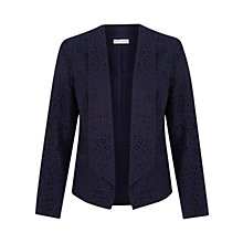 Buy Kaliko Swirl Lace Jacket, Navy Online at johnlewis.com