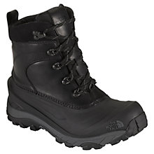 Buy The North Face Men's Chilkat II Luxe Boots, Black/Grey Online at johnlewis.com