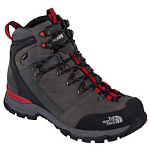 Buy The North Face Men's Verbera Hiker Gore-Tex II Boots, Graphite Grey/Red Online at johnlewis.com