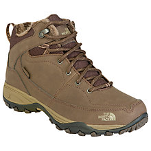 Buy The North Face Women's Snowstrike II Leather Boots, Brown Online at johnlewis.com