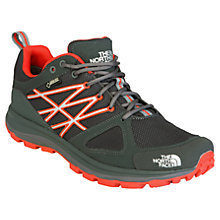 Buy The North Face Men's Litewave Gore-Tex Hiking Shoe, Black/Red Online at johnlewis.com