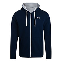 Buy Under Armour Full Zip Hoodie, Carbon Online at johnlewis.com