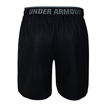 "Buy Under Armour Mirage 8"" Shorts, Black/Grey Online at johnlewis.com"