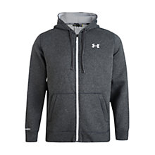 Buy Under Armour Full Zip Hoodie, Carbon, Carbon Online at johnlewis.com