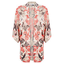 Buy Windsmoor Blurred Floral Kimono, Coral Online at johnlewis.com