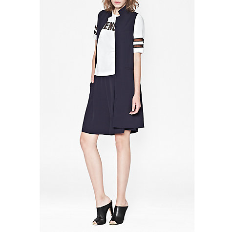 Buy French Connection Ziggy Sleeveless Jacket, Nocturnal Online at johnlewis.com