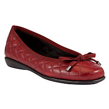 Buy John Lewis Designed for Comfort Peacock Quilt Leather Loafers Online at johnlewis.com