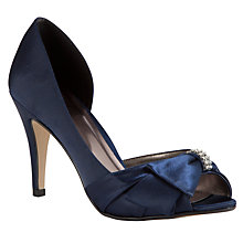 Buy John Lewis Exposed Peep Toe Court Shoes Online at johnlewis.com