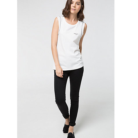 Buy Mango Iconic T-Shirt, White Online at johnlewis.com