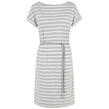 Buy NW3 by Hobbs Libby Dress, Grey White Online at johnlewis.com