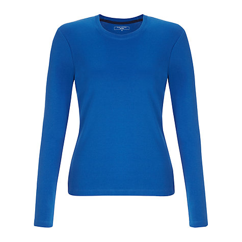 Buy John Lewis Crew Neck Long Sleeve T-Shirt Online at johnlewis.com