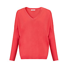 Buy John Lewis Slouchy Merino V-Neck Jumper Online at johnlewis.com