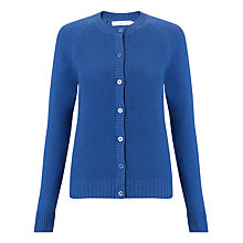 Buy John Lewis Textured Panel Crew Neck Cardigan Online at johnlewis.com