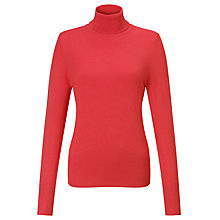 Buy John Lewis Roll Neck Rib Hem Jumper Online at johnlewis.com
