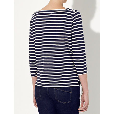 Buy Collection WEEKEND by John Lewis Square Neck Breton Stripe Top Online at johnlewis.com