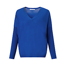 Buy John Lewis Batwing Sleeve Slouchy Merino V-Neck Jumper Online at johnlewis.com