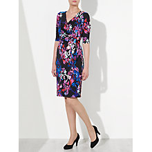 Buy John Lewis Capsule Collection Floral Print Jersey Dress, Multi Online at johnlewis.com