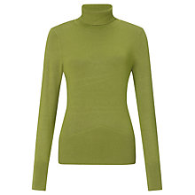 Buy John Lewis Roll Neck Rib Hem Top Online at johnlewis.com