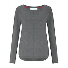 Buy John Lewis Dip Hem Boatneck Tunic Top Online at johnlewis.com