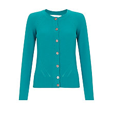 Buy Collection WEEKEND by John Lewis Purl Stitch Cashmere Cardigan Online at johnlewis.com
