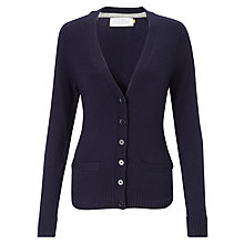 Buy Collection WEEKEND by John Lewis Saddle Shoulder V-Neck Cardigan Online at johnlewis.com