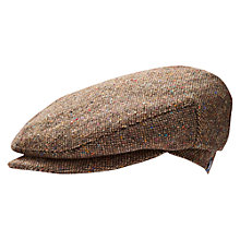 Buy Little Joule Junior Grumble Tweed Flat Cap Online at johnlewis.com