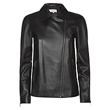 Buy Hobbs London Thamer Jacket, Black Online at johnlewis.com