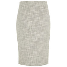 Buy Hobbs London Palma Skirt, Black White Online at johnlewis.com
