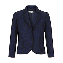 Buy Hobbs Palma Blazer, Navy Online at johnlewis.com
