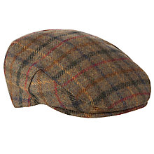 Buy Barbour Moons Tweed Cap, Olive Online at johnlewis.com