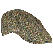 Buy Barbour Moons Herringbone Cap, Olive Online at johnlewis.com