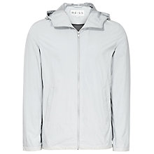 Buy Reiss Zidane Suede Trim Anorak, Grey Online at johnlewis.com